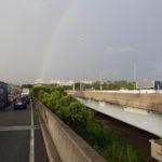 9月7日(月曜日)虹を見た