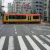 7月22日(水曜日)路面電車の雰囲気